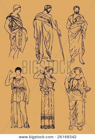 Antic Greek Costumes