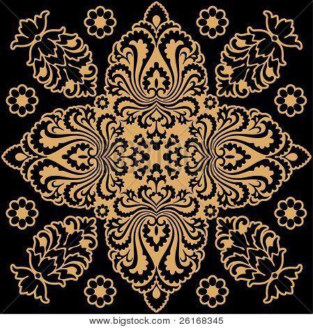 Beige Decorative Pattern