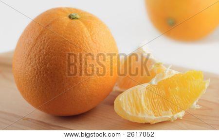 Slice And Orange
