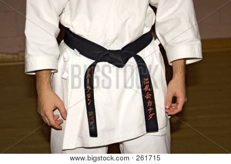 Karate 02 Black Belt