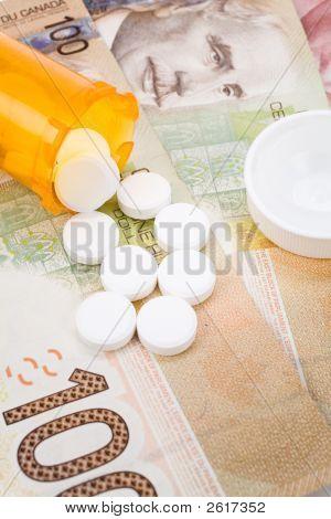 Medicine Pills And Canadian Dollar
