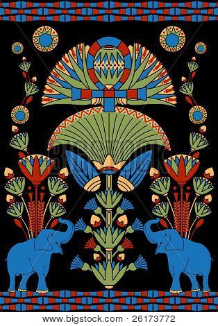 Indian Decorative Pattern