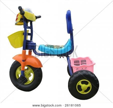 A Child's Fancy Trike
