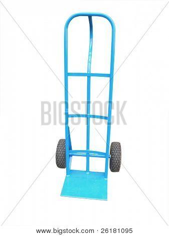 Blue Hand Cart