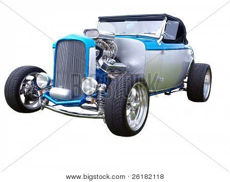 1932 Hotrod isolated with clipping path