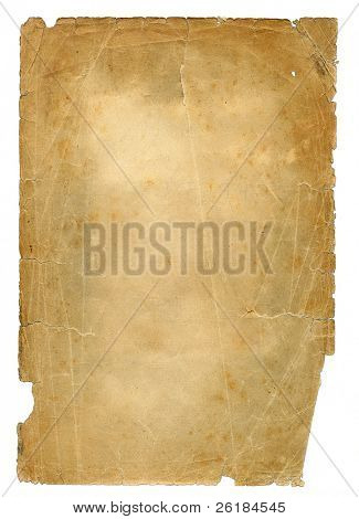 texture of antique paper with enlargement texture's details  1902 year