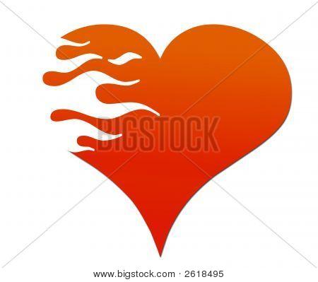 Flaming Heart