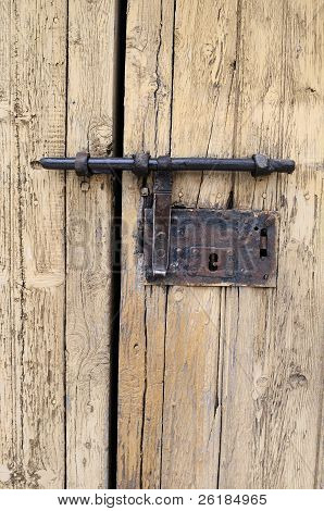 Traditional Door Lock in  Luzon