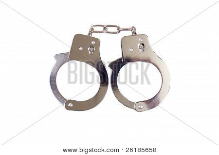 Handcuffs Isolated