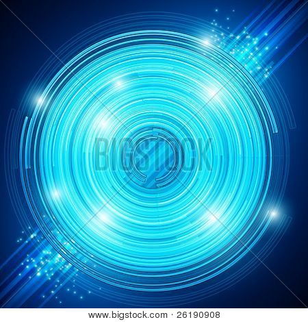 EPS10 Abstract technology circles - vector background