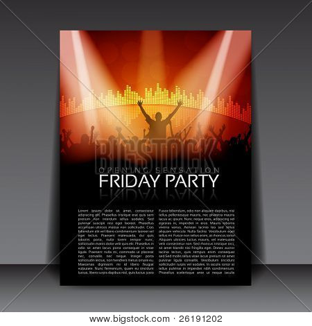 Colorful EPS10 design – Sensation Party - Vector Background
