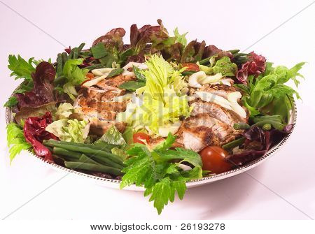 Arab-style chicken salad