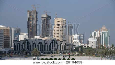 West Bay Doha's high rise