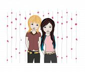 image of friendship belt  - Girl Friends - JPG