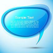 Постер, плакат: EPS10 Красочные речи пузырь Векторный дизайн