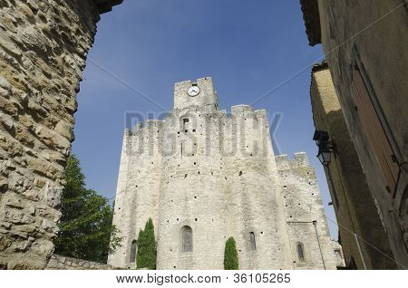 medieval church in France