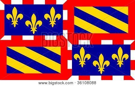 Bourgogne Flag