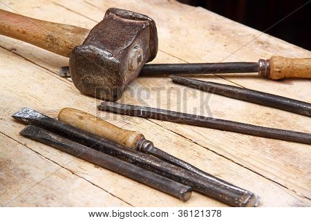 Hammer And Chisels