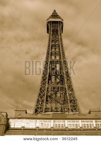 Blackpol Tower. Blackpool, England