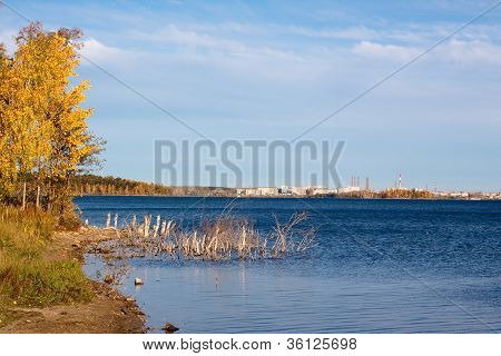 Golden Fall Lake