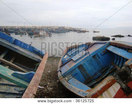barco bote mar