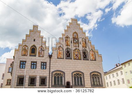 "Town hall of ""Wasserburg am Inn"", Bavaria, Germany"