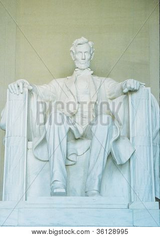 Lincoln Memorial Close up
