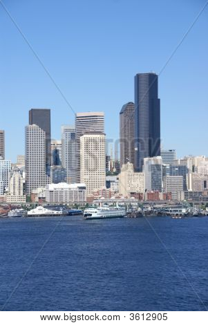 Seattle Waterfront Skyline, Downtown