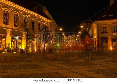 Big Square, Sibiu - Night view