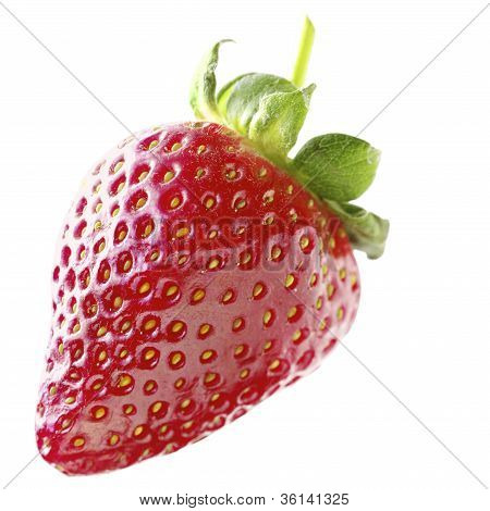 Strawberry Isolated On White,strawberry Isolated On White