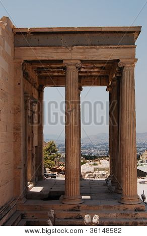 Fragment Of The Erechtheum