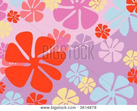 bunte Frühlingsblumen vector illustration