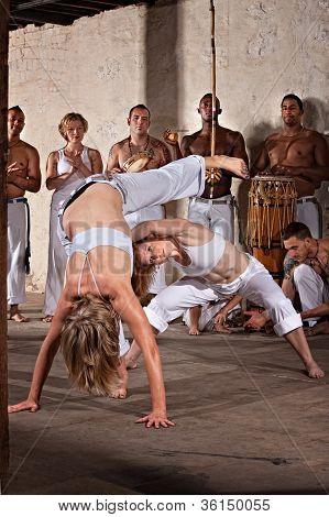 Female Capoeria Performers