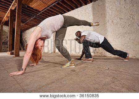 Capoeria Spinning Back Kick
