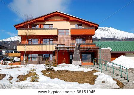 Modern Luxury Hotel At Ski Resort, High Tatras, Slovakia