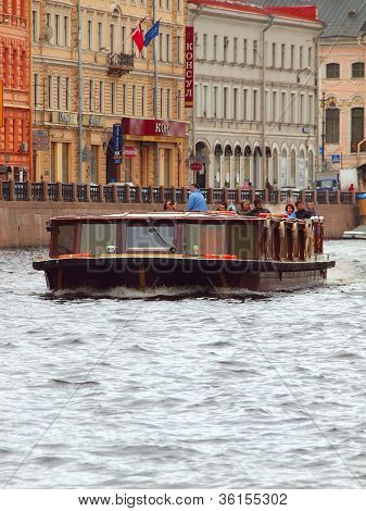 Tour On A River Boat