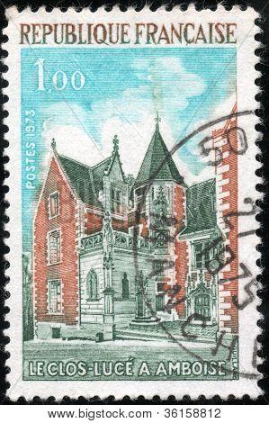 Stamp Le Clos Luce A Amboise