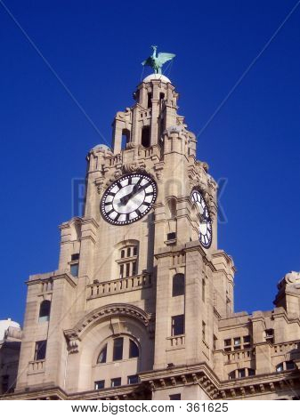 Liver Building Clock Tower