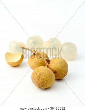 Group Of Longan
