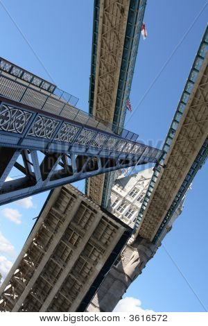 Tower Bridge Is Open.