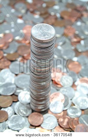 Tower Of Us Coins