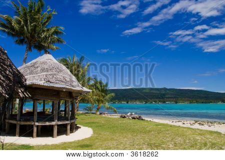 Tropical Beach Hut
