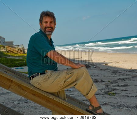 Man At Beach