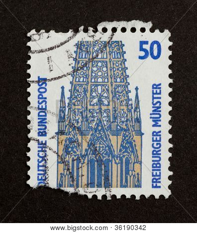 Germany - Circa 1980: Stamp Printed In Germany