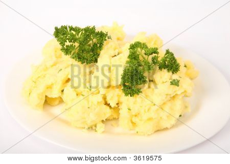 Creamed Parsley Potatoes