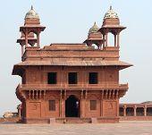 pic of khas  - Architectural detail around Fatehpur Sikri a city in Uttar Pradesh India - JPG