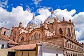image of bolivar  - New cathedral in Cuenca Ecuador - JPG