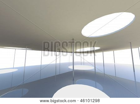 Abstract Skylight Of Conceptual Architecture