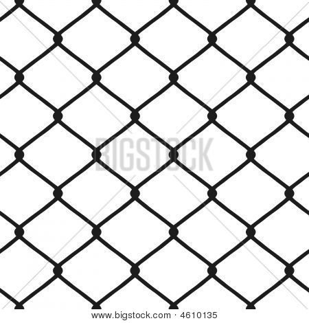Chain Linked Fence Seamless Pattern