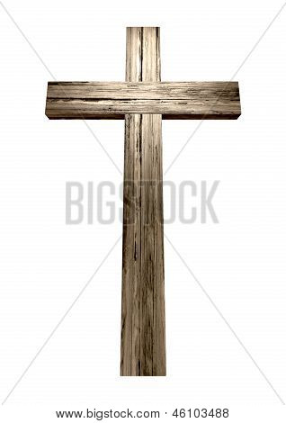 Hölzernes Kruzifix